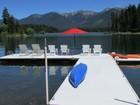 Maison unifamiliale for  sales at Echo Lake 365 Echo Chalet Drive Bigfork, Montana 59911 États-Unis
