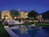 Property Of Regal Mediterranean Estate on 3.6 Acres in Upper Canyon of Silverleaf