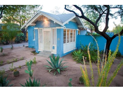 独户住宅 for sales at Authentic Adorable Bungalow Melds 1920's Charm With The Conveniences Of 2014 227 E Helen Street  Tucson, 亚利桑那州 85705 美国