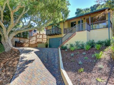 獨棟家庭住宅 for sales at Charming Mill Valley Contemporary 28 Loring Avenue Mill Valley, 加利福尼亞州 94941 美國