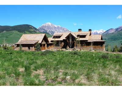 Maison unifamiliale for sales at 19 Kokanee Drive  Mount Crested Butte, Colorado 81225 États-Unis