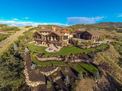 단독 가정 주택 for sales at Stunning Mountain Estate with Serenity and Views 1555 Red Hawk Trl  Park City, 유타 84098 미국