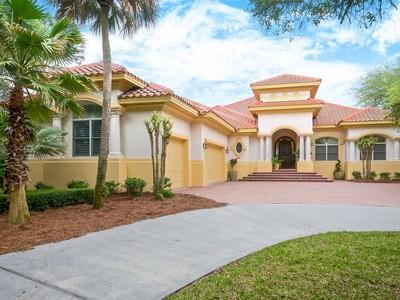 Maison unifamiliale for sales at Juniper Court 6 Juniper Court Amelia Island, Florida 32034 États-Unis