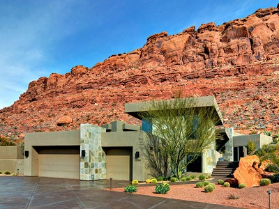 Casa Unifamiliar for sales at Red Rocks Beauty 2230 W Acowa Cir St. George, Utah 84770 Estados Unidos