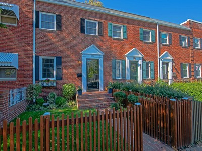 Townhouse for sales at 620 Columbus Street N, Alexandria  Alexandria, Virginia 22314 United States