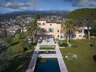 Anderer Wohnungstyp for sales at Magnificient Manor House 15 mns from Nice - view on the St Paul Village La Colle sur Loup Saint Paul De Vence, Provence-Alpes-Cote D'Azur 06480 Frankreich