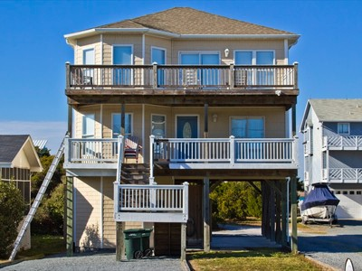 Single Family Home for sales at 818-A N Anderson Blvd  Topsail Beach, North Carolina 28445 United States