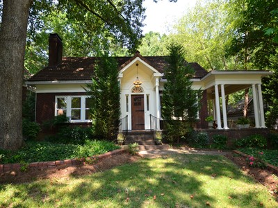 獨棟家庭住宅 for sales at Updated 1926 Classic One Level Living 1336 Harvard Road Atlanta, 喬治亞州 30306 美國
