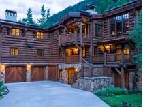 Tek Ailelik Ev for sales at Log Masterpiece in East Vail 3838 Bridge Rd  East Vail, Vail, Colorado 81657 Amerika Birleşik Devletleri