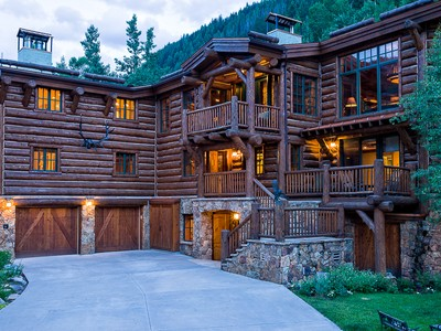 Single Family Home for sales at Log Masterpiece in East Vail 3838 Bridge Rd Vail, Colorado 81657 United States