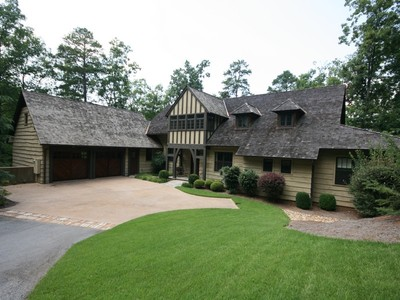 Single Family Home for sales at Casual Elegance & Architectural Charm 128 Big Creek Trail Six Mile, South Carolina 29682 United States
