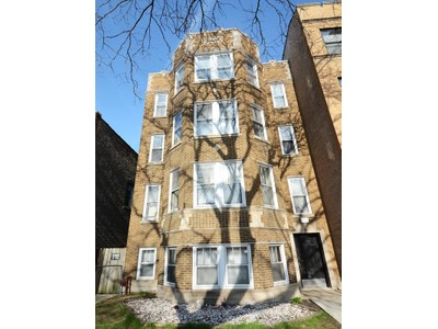 Single Family Home for sales at Solid Brick Four Unit! 6519 N Ashland Avenue Chicago, Illinois 60626 United States