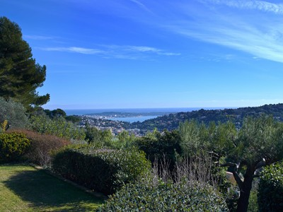 Single Family Home for sales at Provencal house with beautiful sea view  Cannes, Provence-Alpes-Cote D'Azur 06220 France