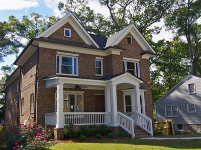 Single Family Home for  at Stunning New Construction 255 Lindbergh Drive Atlanta, Georgia 30305 United States