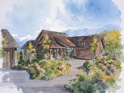 Single Family Home for sales at Park City Cabin in Promontory,a Private Mountain & Golf Re 3831 Cynthia Cir Lot 25   Park City, Utah 84098 United States