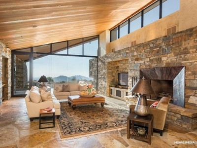 一戸建て for sales at Spectacular Furnished Designer Home with Views 11056 E Distant Hills Drive Scottsdale, アリゾナ 85262 アメリカ合衆国