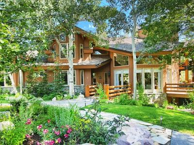 Maison unifamiliale for sales at A Piece of Heaven 4 Thaynes Canyon Wy Park City, Utah 84060 États-Unis
