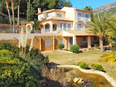 獨棟家庭住宅 for sales at Beautiful villa with very large landscaped garden La Vella Altea, Alicante Costa Blanca 03590 西班牙