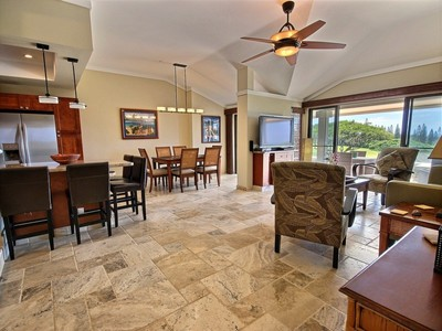 Condominium for sales at Luxurious Two Bedroom Golf Villa with golf course and ocean views 500 Kapalua Dr. Kapalua Golf Villa 19P3, 4 Kapalua, Hawaii 96761 United States