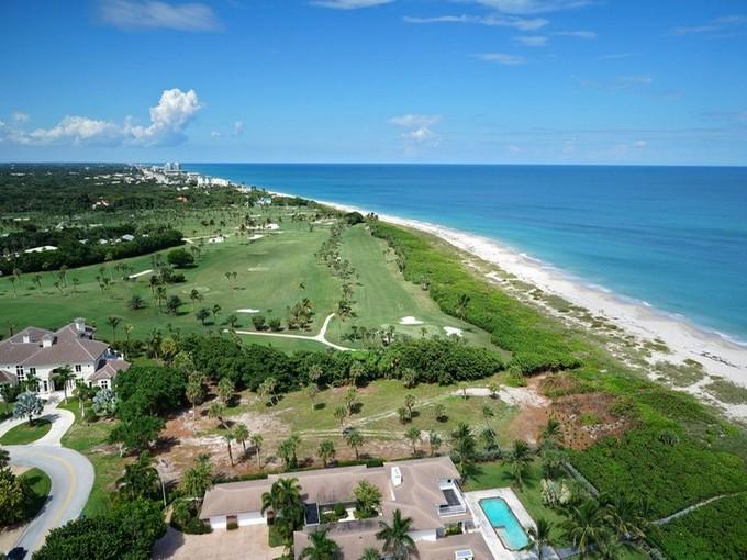 Land for sales at Oceanfront Golf Frontage in Riomar Point 1930 Ocean Drive Vero Beach, Florida 32963 Vereinigte Staaten