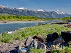 Terrain for sales at Snake River Parcel with Teton Views 475 S Ely Springs Road  Jackson, Wyoming 83001 États-Unis