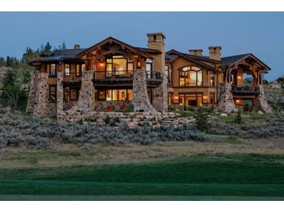 Частный односемейный дом for sales at Glenwild 5th Green Masterpiece on 2.67 acres and Adjacent to Open Land 280 Hollyhock St Park City, Utah 84098 United States