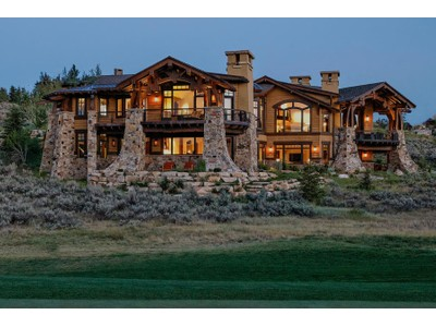Villa for sales at Glenwild 5th Green Masterpiece on 2.67 acres and Adjacent to Open Land 280 Hollyhock St Park City, Utah 84098 Stati Uniti