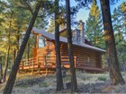 Maison unifamiliale for sales at Log Home Retreat 1525 KM Ranch Rd Whitefish, Montana 59937 États-Unis