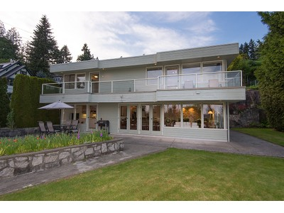 Single Family Home for sales at Mid-Century Post & Beam 430 N Oxley Street  West Vancouver, British Columbia V7V2L6 Canada