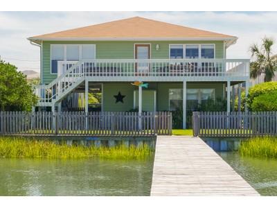 Nhà ở một gia đình for sales at Sound Front Beauty 1216 Carlolina Boulevard Topsail Beach, Bắc Carolina 28445 Hoa Kỳ
