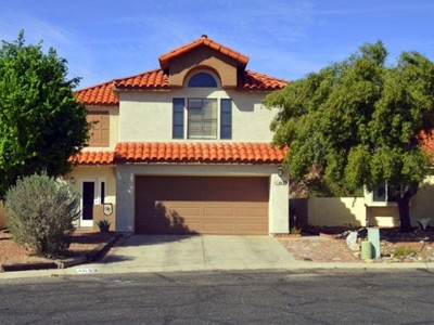 獨棟家庭住宅 for sales at Beautifully Remodeled Home in the Gated Community of Countryside Valley 4622 W Lessing Lane Tucson, 亞利桑那州 85742 美國