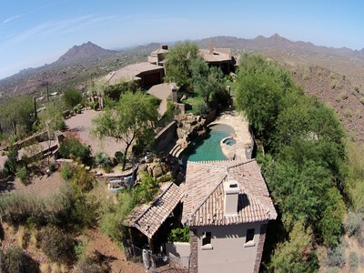 Частный односемейный дом for sales at Magnificent Gated Mountain Estate 42820 N FLEMING SPRINGS RD   Cave Creek, Аризона 85331 Соединенные Штаты