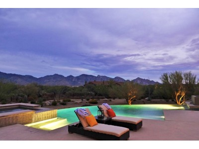 Moradia for sales at Stone Canyon Contemporary with Wide Sweeping Catalina Mountain Views 13804 N Old Sinagua Place   Oro Valley, Arizona 85755 Estados Unidos