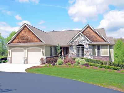 Maison unifamiliale for sales at Rose Township 8864 Milford Road Holly, Michigan 48442 États-Unis