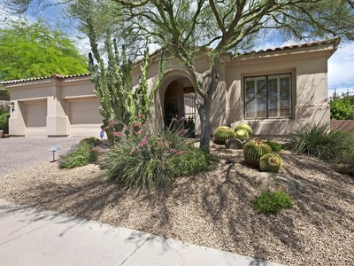 Single Family Home for sales at Stunning And Meticulously Maintained Courtyard Entry Home in One Hundred Hills 10945 E Betony Drive Scottsdale, Arizona 85255 United States