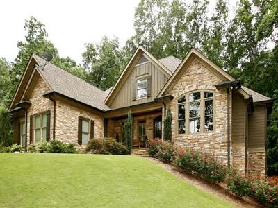 Casa Unifamiliar for sales at Gorgeous Home On Incredible Wooded Lot 862 Waterford Estates Manor Canton, Georgia 30115 Estados Unidos
