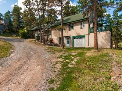 Частный односемейный дом for sales at 3011 Conifer Circle  Evergreen, Колорадо 80439 Соединенные Штаты
