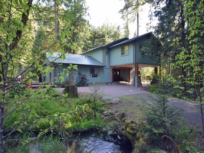 Single Family Home for sales at 57020 North Bank Road  McKenzie Bridge, Oregon 97413 United States