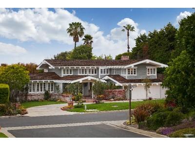 Maison unifamiliale for sales at 2809 Via Barri  Palos Verdes Estates, Californie 90274 États-Unis