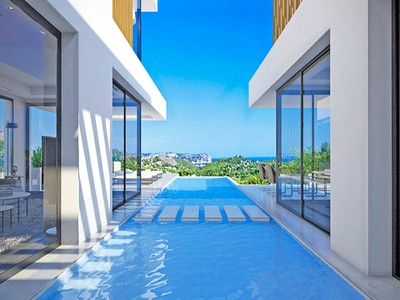 Single Family Home for sales at Construction project with a sophisticated design including land with wonderful S Javea Javea, Alicante Costa Blanca 03730 Spain