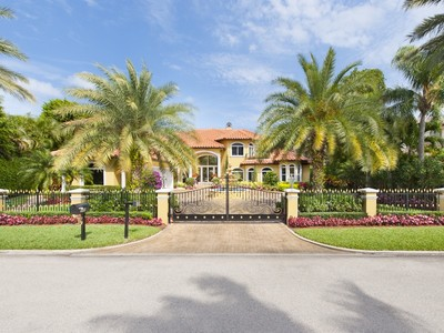 Single Family Home for sales at 444 E Coconut Palm Rd.  Boca Raton, Florida 33432 United States