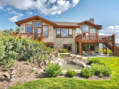 Maison unifamiliale for sales at Main Level Living - Big Views - Incredible Yard 3781 W Blacksmith Rd  Park City, Utah 84098 États-Unis