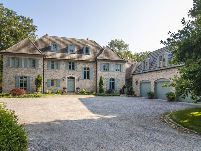 Casa Unifamiliar for sales at French Country Estate 128 River Road Essex, Connecticut 06426 Estados Unidos
