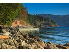 Single Family Home for  sales at Secluded Waterfront Hideaway 1146 Aspen Road   Victoria, British Columbia V0R2L0 Canada