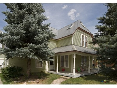 Single Family Home for sales at The Superintendent's House 721 Maroon Avenue  Crested Butte, Colorado 81224 United States