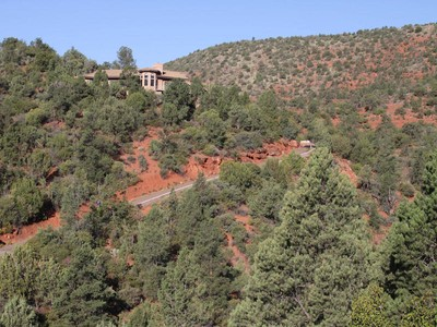 Single Family Home for sales at Four Private Acres 601 Creek View Circle Spur  Sedona, Arizona 86336 United States