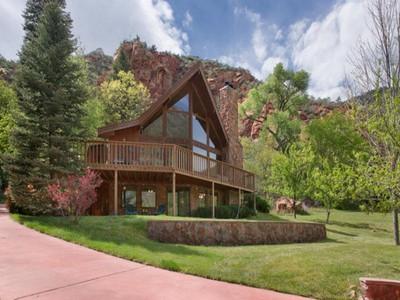 Single Family Home for sales at Escape to Oak Creek Canyon 115 Junipine Circle Sedona, Arizona 86336 United States
