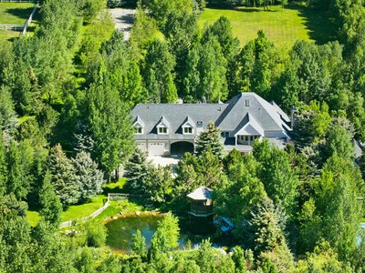 Maison unifamiliale for sales at Priceless Alpine Ranch on over 36 Prime Acres in the Heart of Park City 645 Old Ranch Rd Park City, Utah 84098 États-Unis