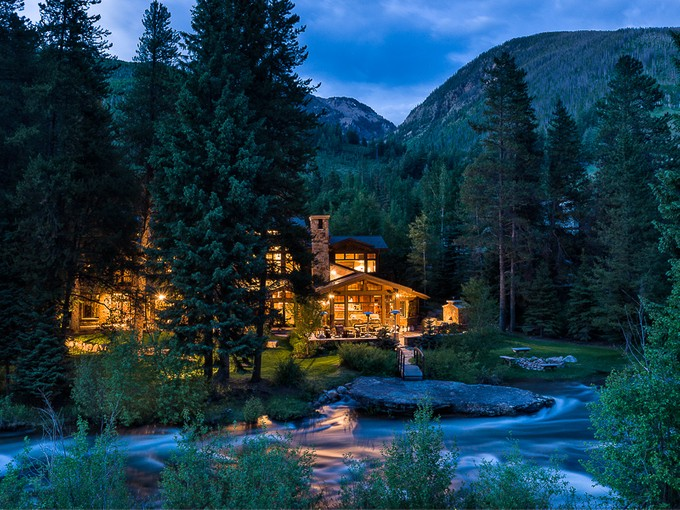 Tek Ailelik Ev for sales at The Creekhouse 4246 Columbine Drive  East Vail, Vail, Colorado 81657 Amerika Birleşik Devletleri