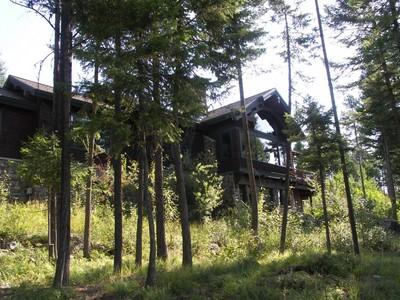 Частный односемейный дом for sales at Iron Horse Home with Expansive Views 109 Lookout Lane Whitefish, Монтана 59937 Соединенные Штаты